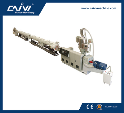 PP/PPR water pipe line/plastic pipe extruding line