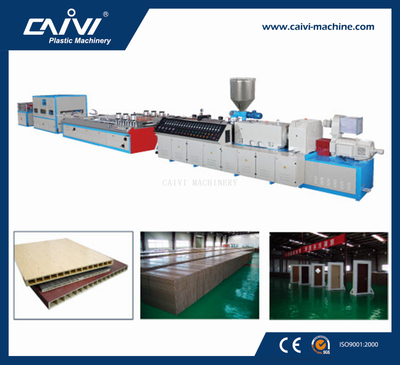 PVC/PE/PP Wood-plastic Board Production Line